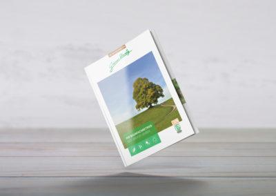 Grüner Zweig, Arbeitsbeispiel 4 RaabenDesign