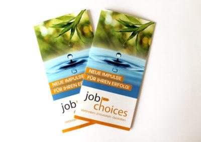 JobChoices Arbeitsbeispiel 1 RaabenDesign